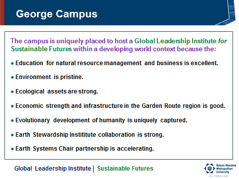 GLI George Campus Features